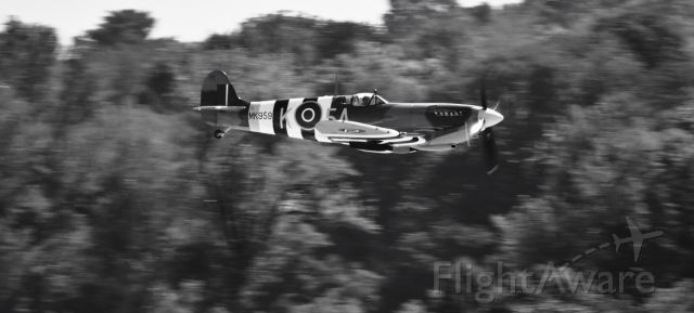 — — - The Spitfire! (This actual aircraft saw combat in WW2)