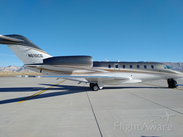 Cessna Citation X (JTL610) - Fresh out of the paint shop.