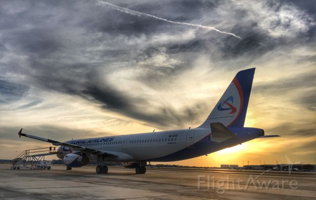 Airbus A321 (VQ-BCE) - Ural Airlines in TPA.
