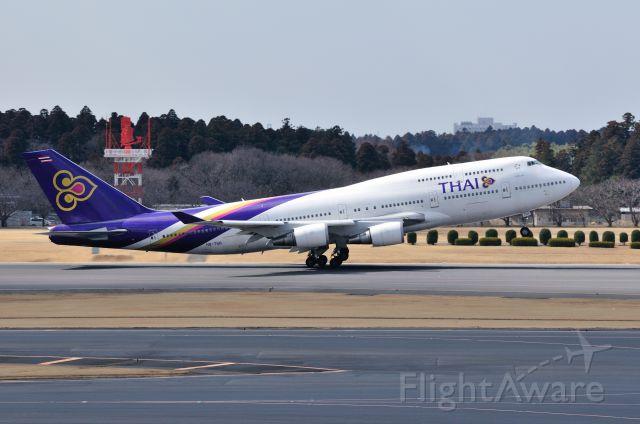 Boeing 747-400 (HS-TGB) - 2012/3/14