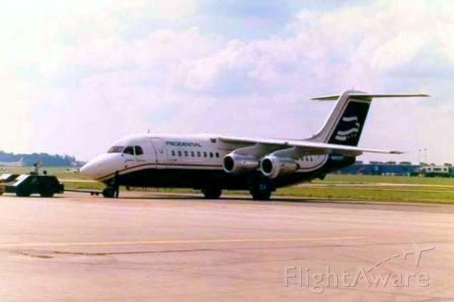 Avro Avroliner (RJ-70) — - Push back at IAD. 1987/88
