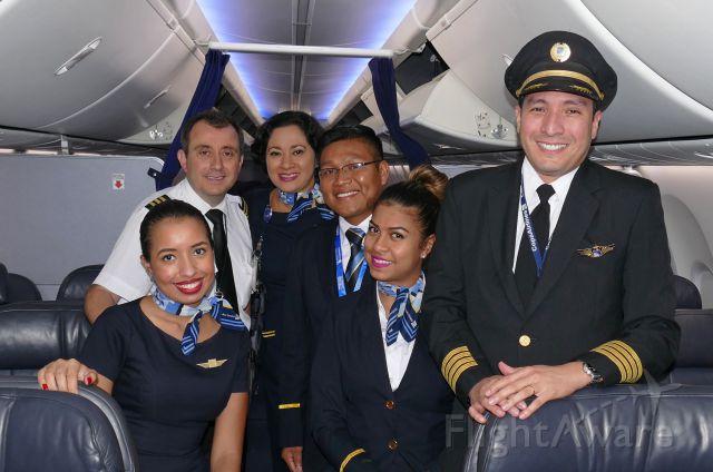 Boeing 737-800 (HP1716CMP) - Great crew operating Flight CM133 SXM-PTY.