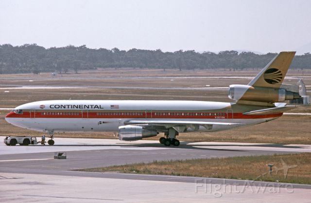 McDonnell Douglas DC-10 (N3878M) - Melbourne, 26 January 1985.