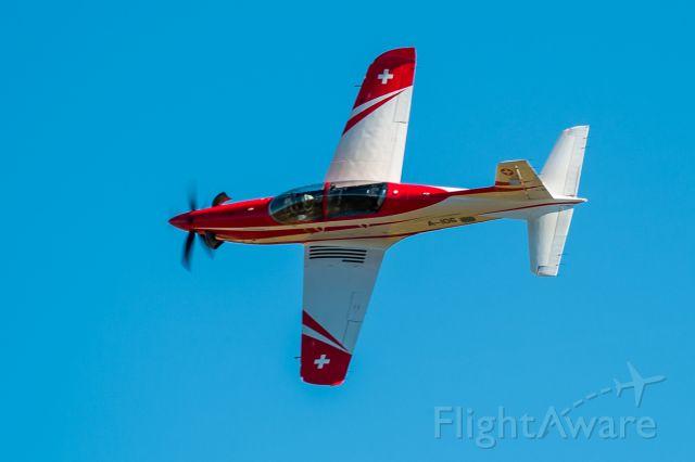 Pilatus PC-21 (A106) - show flight over Axalp training ground