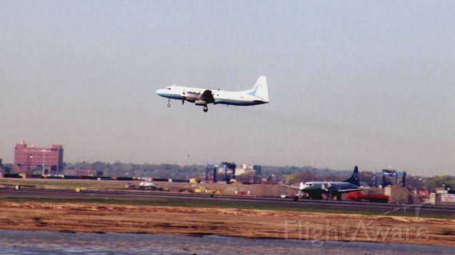 CONVAIR CV-580 (N39) - The two FAA Convair 580s were doing flight testing - go arounds.