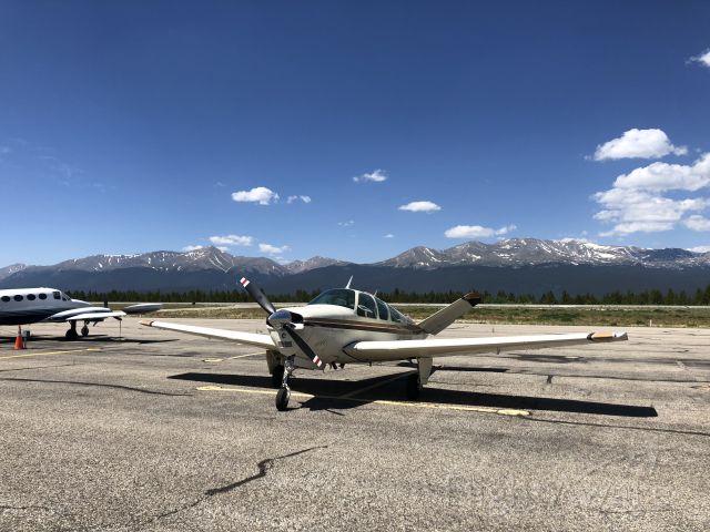 Beechcraft 35 Bonanza (N2008W) - Summer day in Leadville