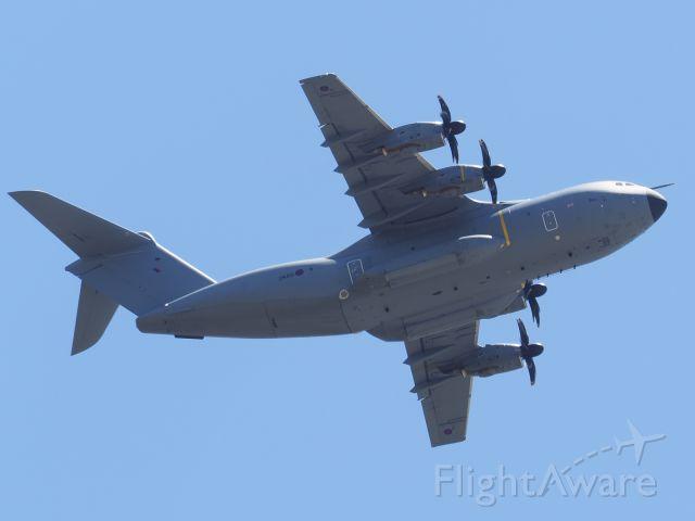 AIRBUS A-400M Atlas (MBB415) - Airbus A400M, RAF Atlas C1 serial number ZM415. RAF Base Brice Norton departed rwy 06 YPPH for RAAF Base Edinburgh. South Australia. 08/11/19.