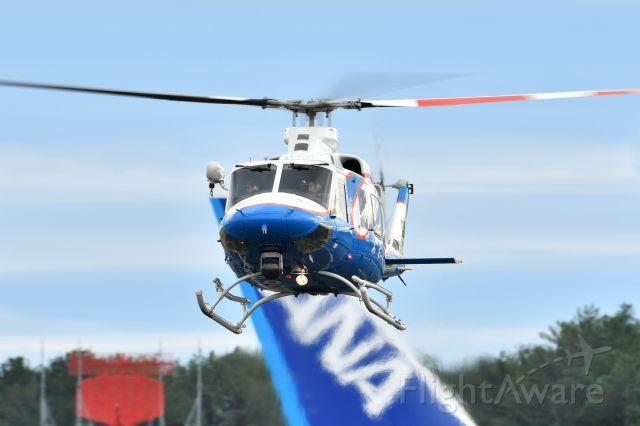 JA99MZ — - AIR RESCUE TEAM MIYAZAKI(Miyazaki Prefecture JPN)br /NAME:(あおぞら=AOZORA)br /Bell 412EP