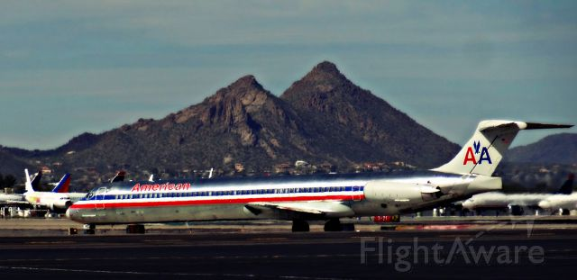 McDonnell Douglas MD-80 (N954U) - Who else can