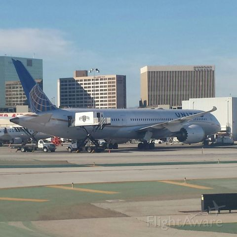 Boeing Dreamliner (Srs.9) — - Photo was taken aboard Delta flight 5726 after landing at LAX from DFW