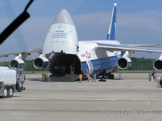 Antonov An-124 Ruslan — - Antonov An-124