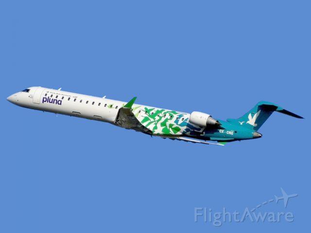 "Canadair Regional Jet CRJ-900 (CX-CRG) - With the theme expression ""Visite Belo Horizonte"""