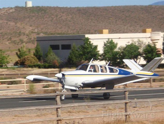 Beechcraft 35 Bonanza (N6265V) - Take off from Sky Ranch outside of Hurricane UT