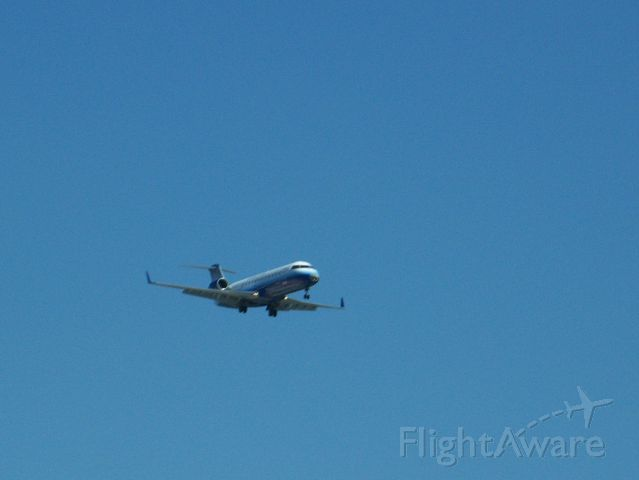 Canadair Regional Jet CRJ-200 — - This is a United Express CRJ-200 landing at Ohare.