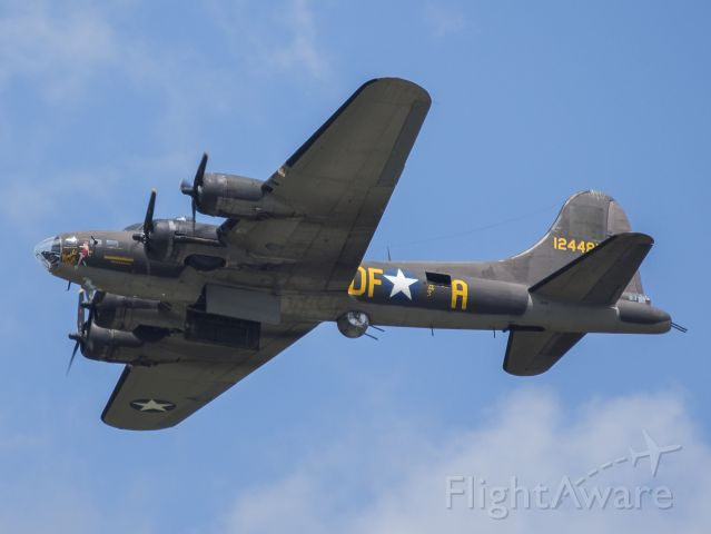 Boeing B-17 Flying Fortress (12-4485) - B-17 Movie Memphis Belle at the Dayton Airshow.