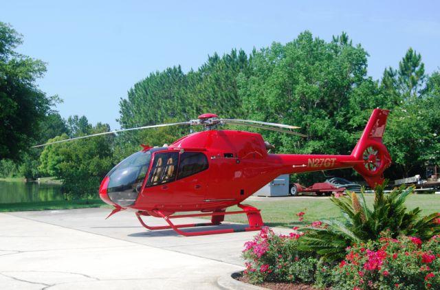 HARBIN HC-120 (N27GT) - Eurocopter EC120B SN:1376 with new Ferrari red paint.