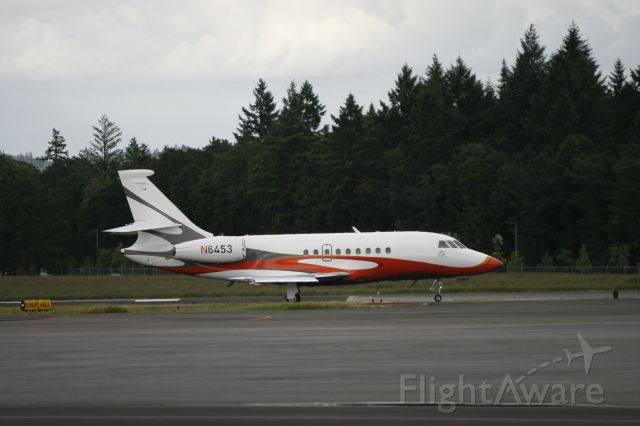 Dassault Falcon 2000 (N6453) - One of Nike