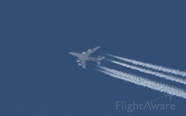 Airbus A380-800 (A6-APH) - etihad a380-861 a6-aph 37,000ft jfk to abu dhabi 20/4/18.