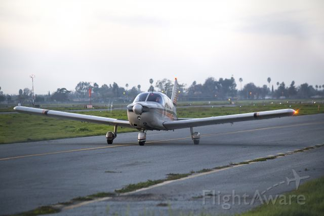 Piper Dakota / Pathfinder (N8556W) - Taxiing at KRHV