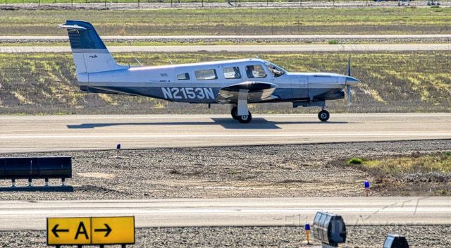 Piper Lance 2 (N2153N) - Piper PA-32RT-300T Turbo Lance 2 at Livermore Municipal Airport. February 2021