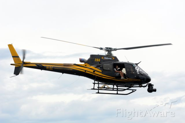 Eurocopter AS-350 AStar (VH-ELC) - Camera helo at start of Sydney to Hobart yacht race 26 Dec 2015