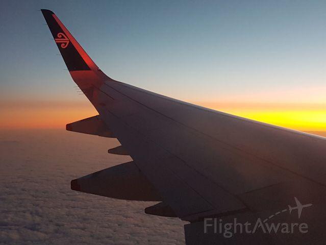 Airbus A321neo (ZK-NNF) - Flight NZ 729, AKL - MEL, 6 Feb 2020