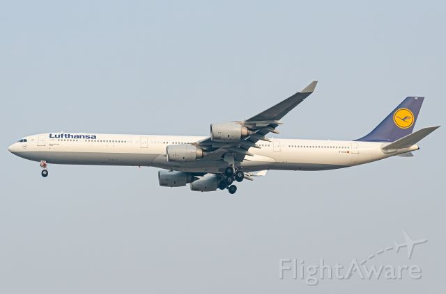 Airbus A340-600 (D-AIHZ) - Thanks for view and give me 5 star please
