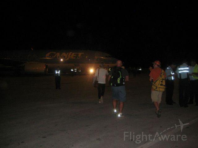 OO-JAQ — - Leaving Cuba on Canjet