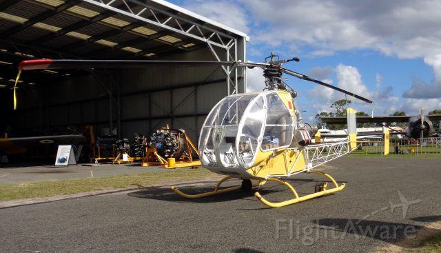 Beechcraft 55 Baron (VH-INP) - Sud-Quest 1221S DJINN  VH-INP  Ansett-ANA at CUD/YCDR