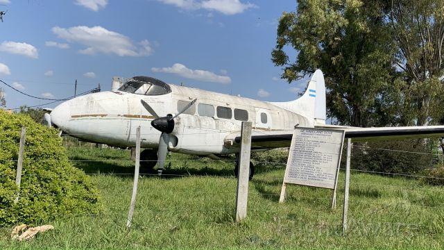 Hawker Siddeley Dove — - De Havilland Dove in Ensenada airdrome. La Plata Airclub