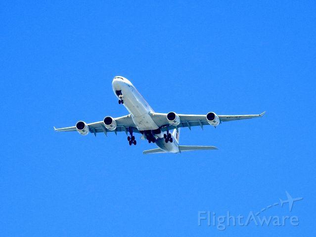 Airbus A340-600 (EC-JLE) - IBE6251 MAD-JFK