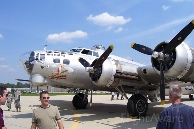 Boeing B-17 Flying Fortress — - Reviewing History with the EAA