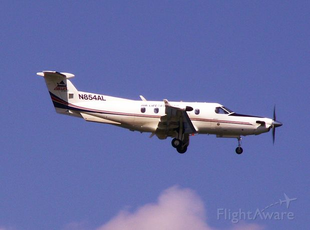 Pilatus PC-12 (N854AL) - Air Life of Oregon