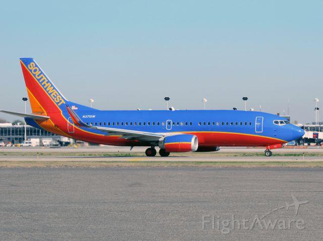 BOEING 737-300 (N371SW) - Boeing 737-700. Southwest standard aircraft.