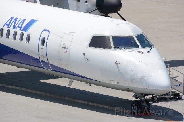 de Havilland Dash 8-200 (JA845A) - EH/AKX