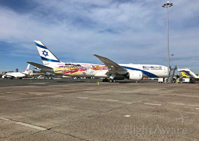 Boeing 787-9 Dreamliner (4X-EDD) - El Al B787-900 SFO/LAS special livery KBOS 03/09/2020