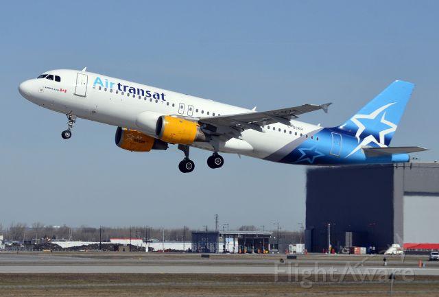 Airbus A320 (C-GCKR)