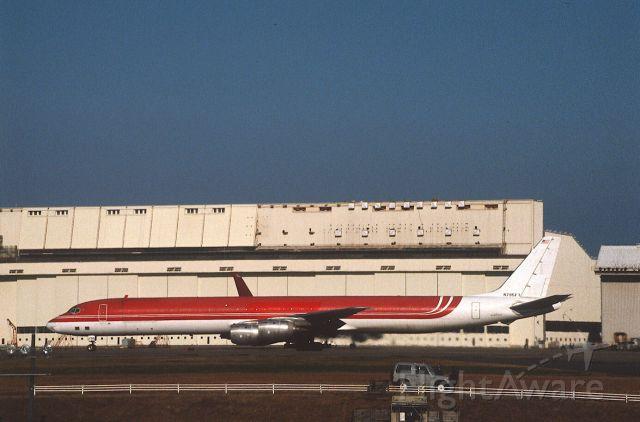 McDonnell Douglas DC-8-70 (N795FT) - Departure at Narita Intl Airport Rwy34 on 1987/11/21