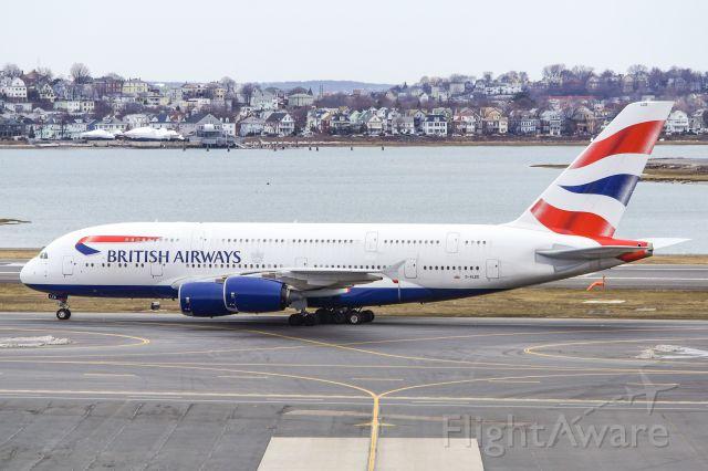Airbus A380-800 (G-XLEE) - British Airways