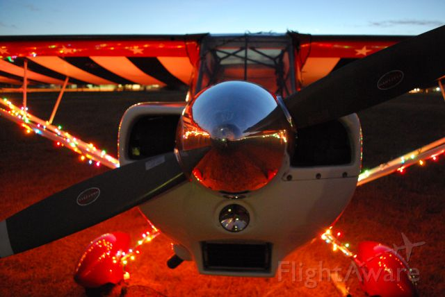 CHAMPION Decathlon (N594AM) - Merry Christmas from Tri-Star Aviation!