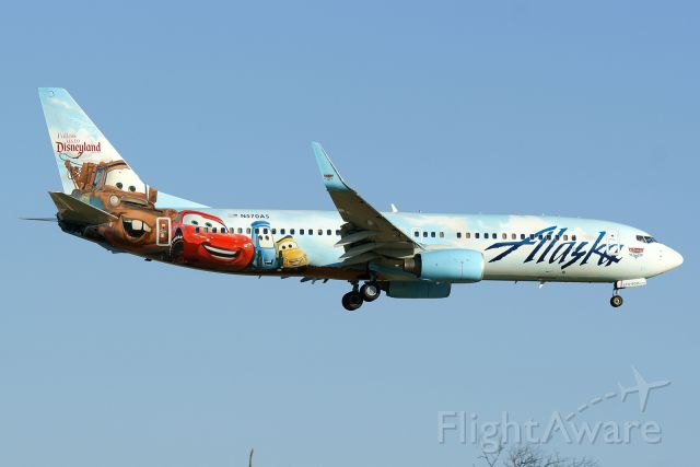 Photo Of Alaska Airlines B738 N570as Flightaware