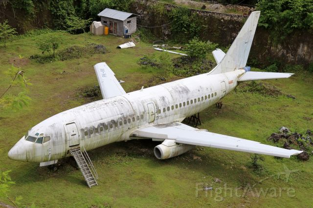 Boeing 737-700 (PK-RII) - Stored since 10/2008<br />Stored in Nusa Dua since 2008
