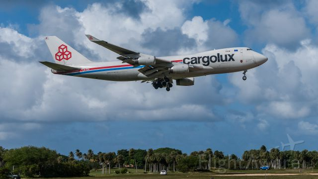 LX-TCV — - Arriving at Aguadilla, Puerto Rico