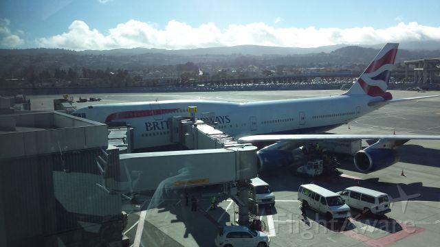 Boeing 747-400 (G-CIVR)