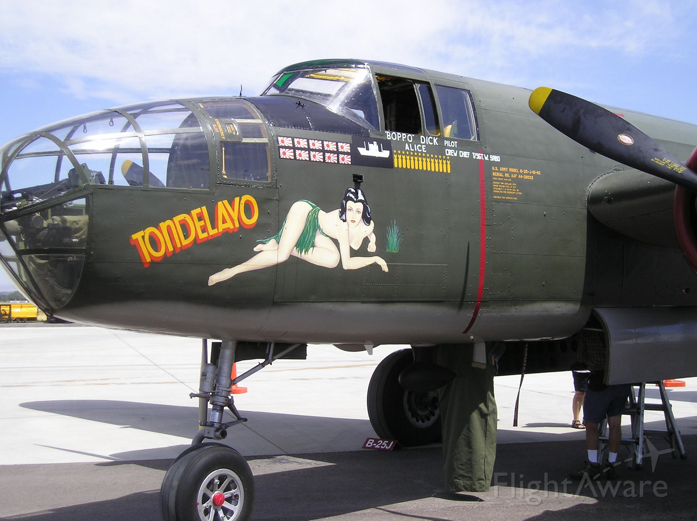 North American TB-25 Mitchell —