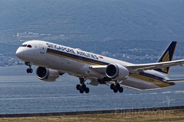 BOEING 787-10 Dreamliner (9V-SCC) - 9V-SCC - Boeing 787-10 Dreamliner - Singapore Airlines