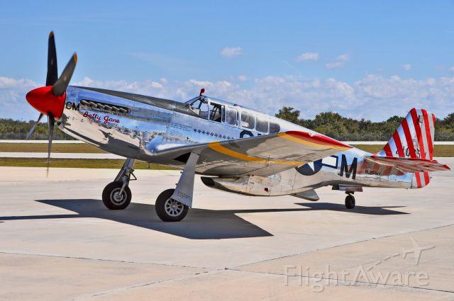 NL251MX — - Collings Foundation P-51C shot at Boca Raton Fl.