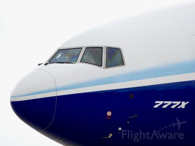 Boeing 777-200 (N779XW) - At Roswell, NM doing brake testing