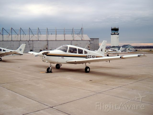 Piper Cherokee (N554PU) - Piper Warrior used for Private and commercial students at Purdue University