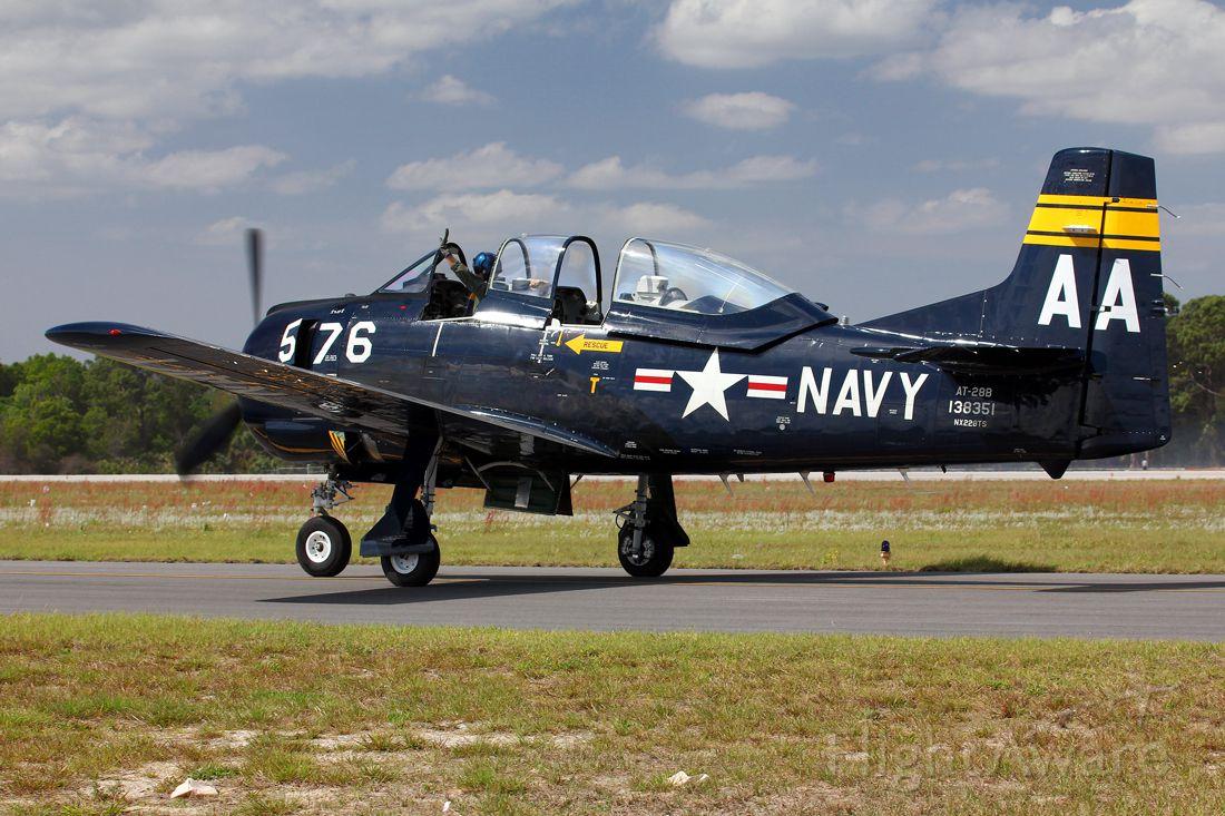 North American Trojan (NX228TS) - AT-28B, TICO Warbird Airshow 2014